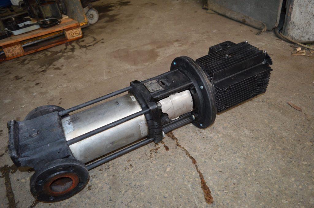 silnik z pompą