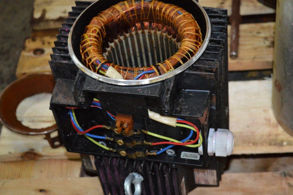 przewijanie silnika elektrycznego
